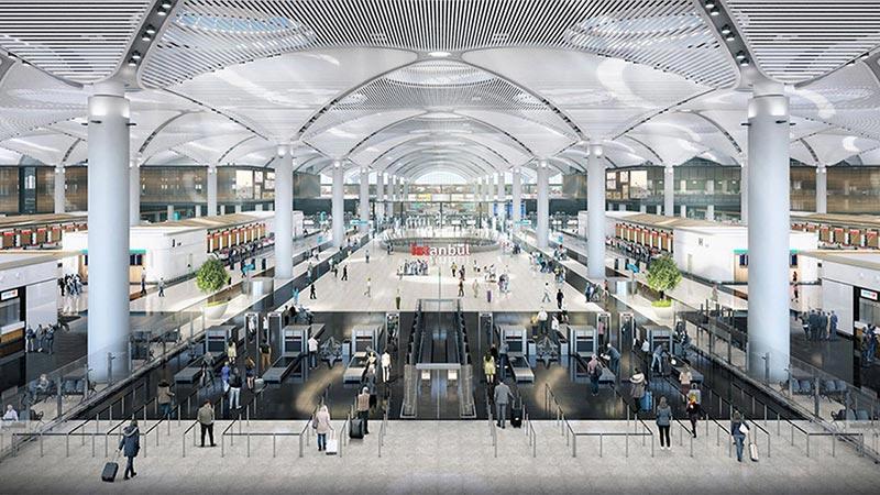 افتتاح مطار اسطنبول الجديد