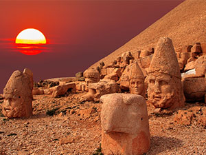 Nemrut Mountain - Info picture about Turkey