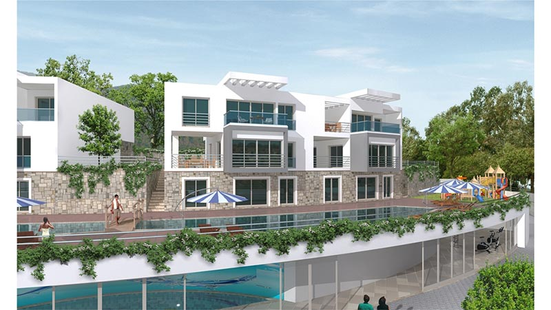 Superb apartments with hotel concept in Kusadasi Aydin