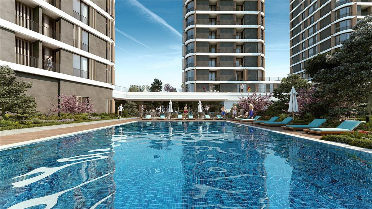 %6 Rental YielD Guarantee Apartments For Sale in Istanbul Kagithane