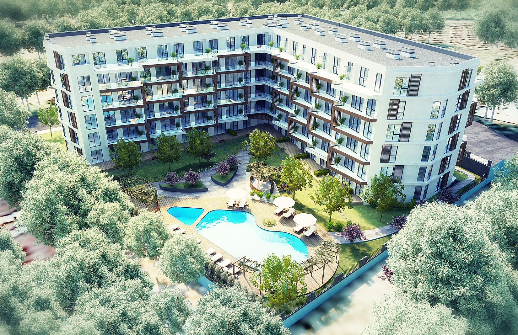 Sea and Forest View Properties in Yalova Cinarcik